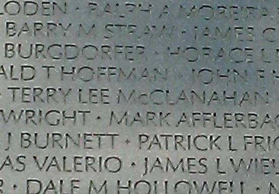 Vietnam Veterans Memorial : The wall