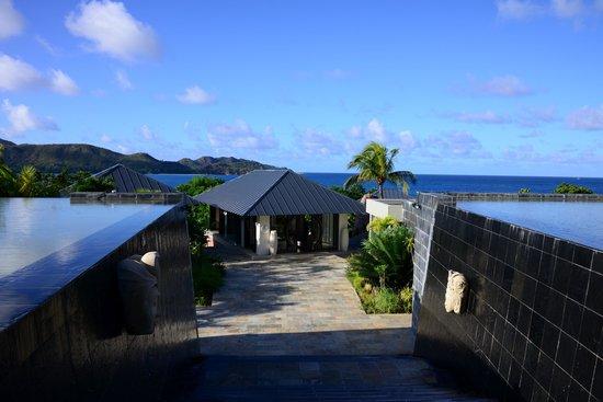 Raffles Seychelles: Территория