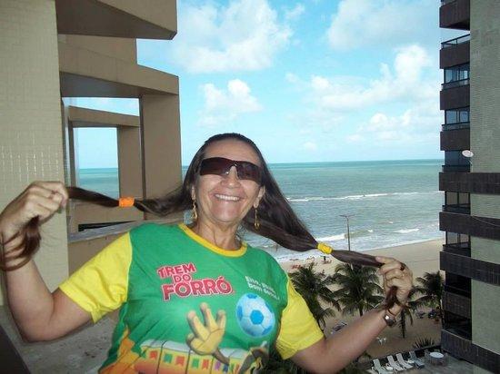 Prodigy Recife by GJP: Recebendo a brisa do mar de Pernambuco