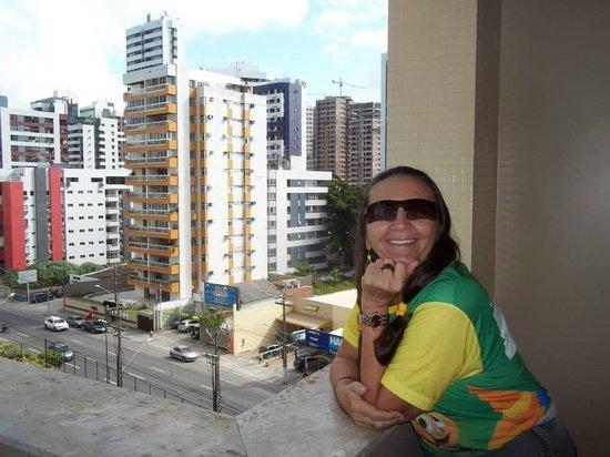 Prodigy Recife by GJP: Fazendo parte do cenário e apreciando a praia