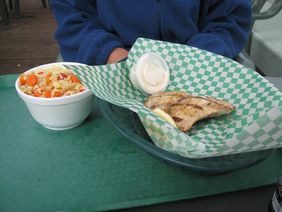 Tognazzini's Dockside Restaurant : Fish also available
