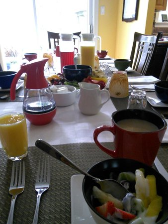 The Prints of Whales Inn : breakfast