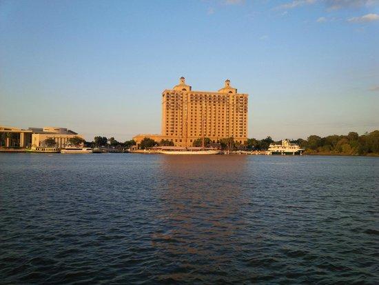 Westin Savannah Harbor Golf Resort & Spa: The view of The Westin from Savannah