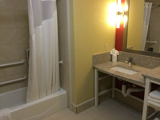 Hilton Garden Inn Dalton: Bathroom