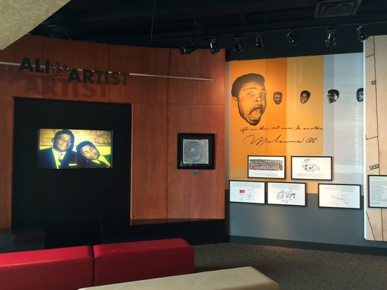 Muhammad Ali Center : The fifth floor where you begin your exploration of the life and times of Muhammad Ali