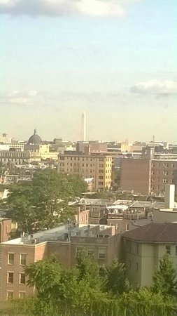 Washington Hilton : View of the Washington Monument from froom 4140