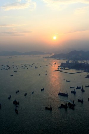 The Ritz-Carlton, Hong Kong: Вид из номера