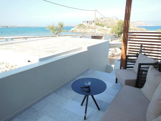 Nissaki Beach Hotel Naxos: View from terrace