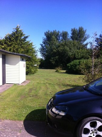 Solway Holiday Village: outside of chalet