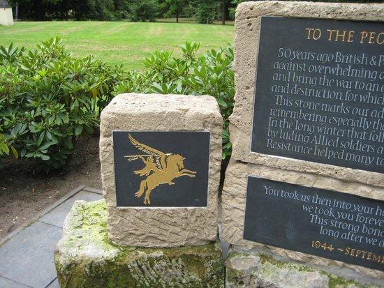 Arnhem War Museum: Pegasus Memorial