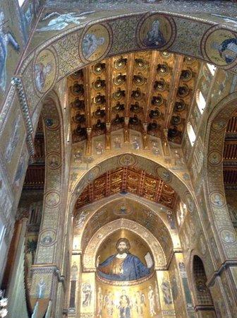 Duomo di Monreale: ceiling