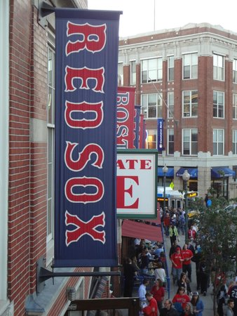 Fenway Park : View from the ball park.
