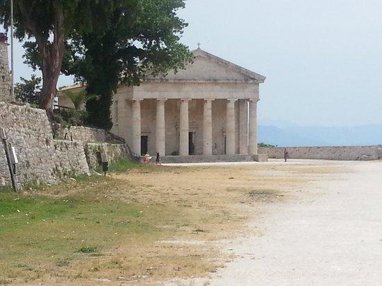 Ariti Grand Hotel: tempio di Artemide Corfu