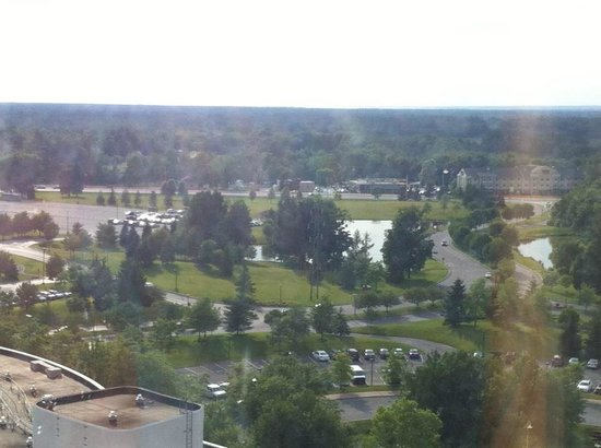 The Tower at Turning Stone Resort : View from 11th floor.
