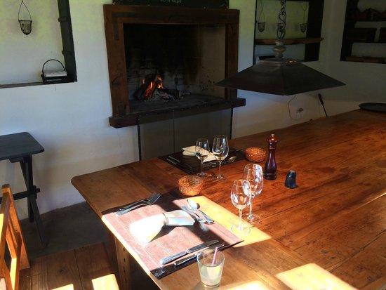 Dos Lunas Horse Riding Lodge: lunch setup