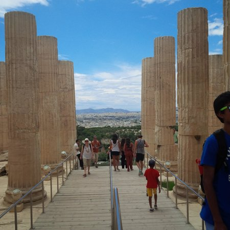 Parthenon: If the columns could talk....