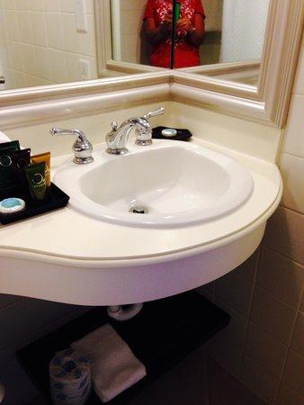 Memories Grand Bahama Beach and Casino Resort: Bathroom - small but everything worked!