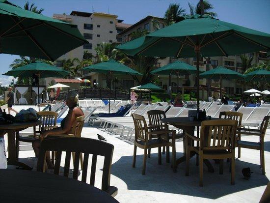 Canto Del Sol Plaza Vallarta: Snack bar dining area
