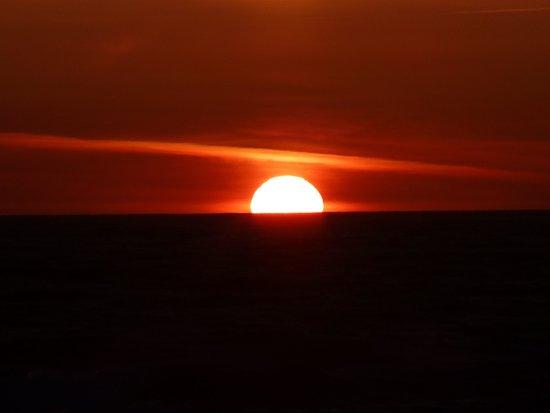 Harborview Inn & RV Park: Ocean View Sunset