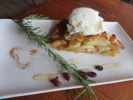 Restaurant Le Grand Pa : tarte aux pommes