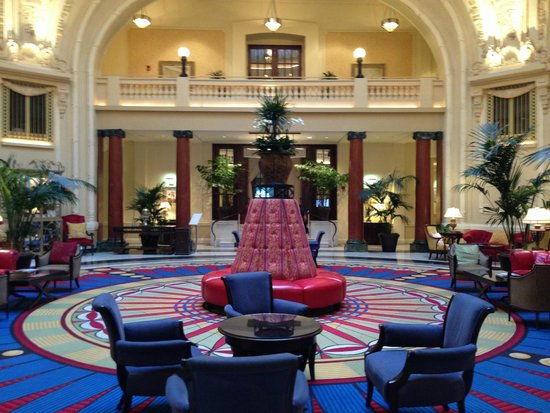 The Battle House Renaissance Mobile Hotel & Spa : Hotel lobby