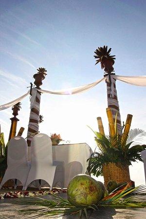 Villa Caletas: Wedding Decoration  by www.CostaRicaFotografo.com