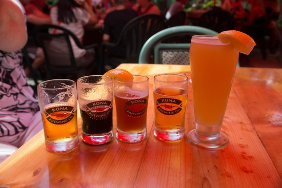 Kona Brewing Company Pub & Brewery : Tasty Variety of Delicious Beer