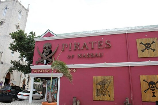 Pirates of Nassau Museum: Front of the Museum
