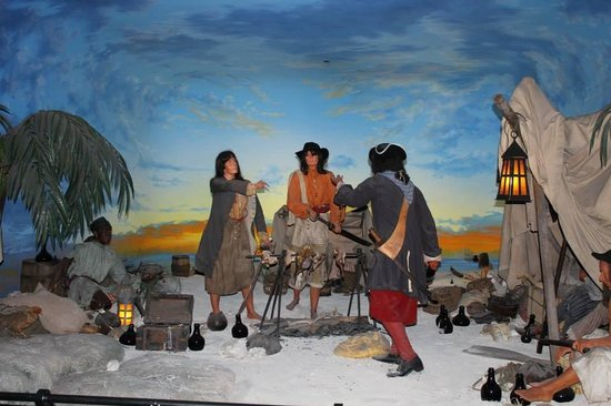 Pirates of Nassau Museum: One of the Exhibits