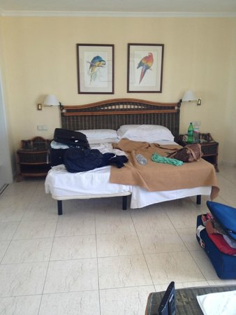 TRYP Tenerife : Superior Room (apologies for the mess)