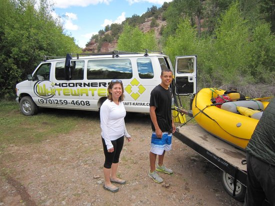 4 Corners Whitewater / Telluride : Happy campers.