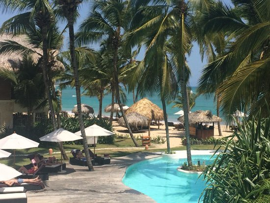 Zoetry Agua Punta Cana : View of the pool and beach