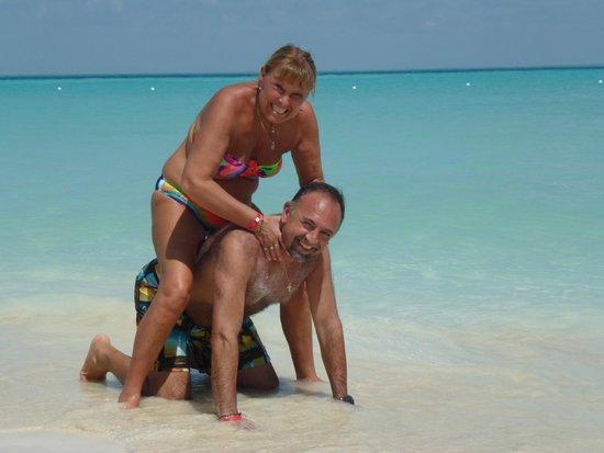 Playa Norte: Que color el mar!!!