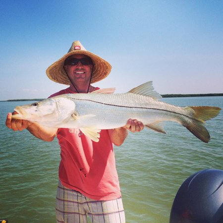 Captain Mike Merritt's Native Guide Service: 20 pound snook