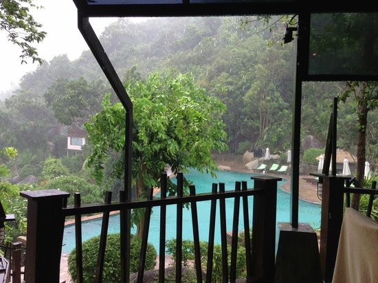 Panviman Resort - Koh Pha Ngan : View from the pool bar