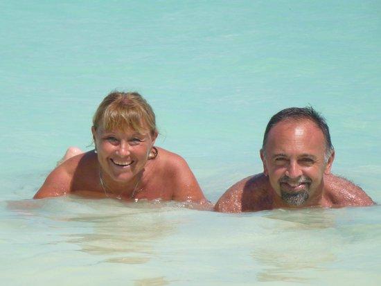 Playa Norte: Agua cristalina