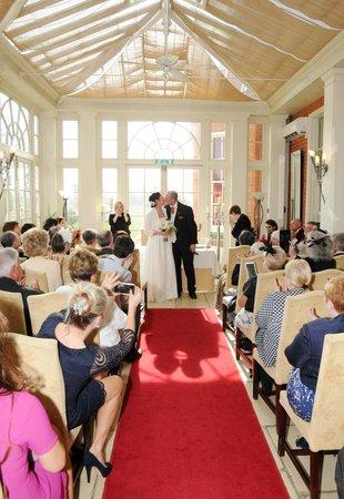 Dovecliff Hall Hotel: The Orangery - Ceremony room.