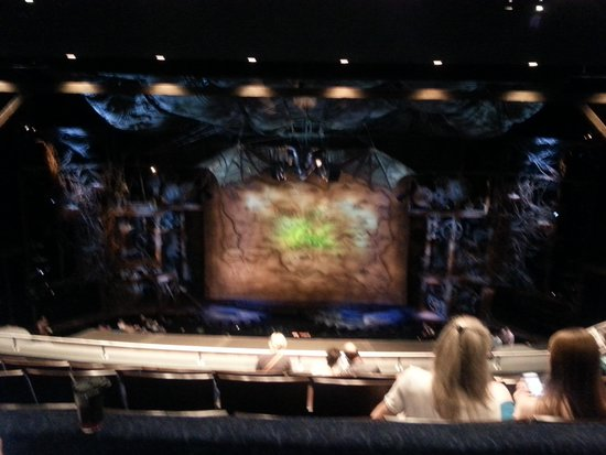 Wicked: looks closer when actually there.