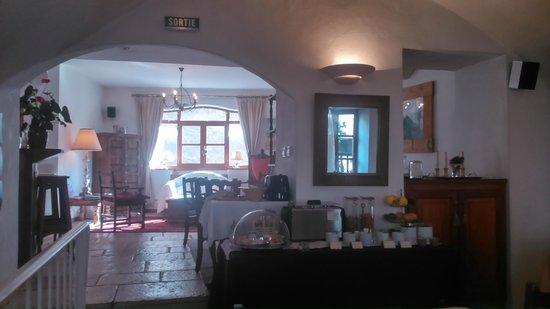 Hotel La boule de neige : dining
