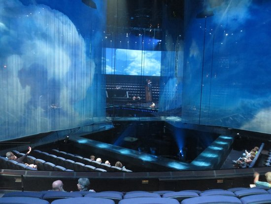 The Beatles - Love - Cirque du Soleil: The theater was amazing.  Large, but felt intimate.
