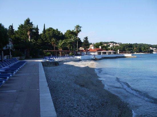 Remisens Hotel Albatros: la plage