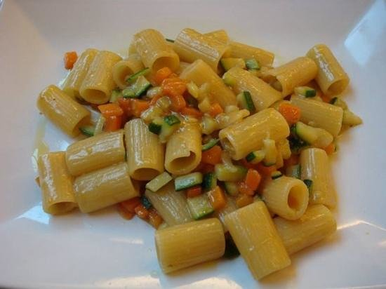 CiampinoHotel: Vegetable pasta
