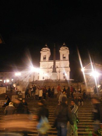 Spanische Treppe (Piazza di Spagna): .