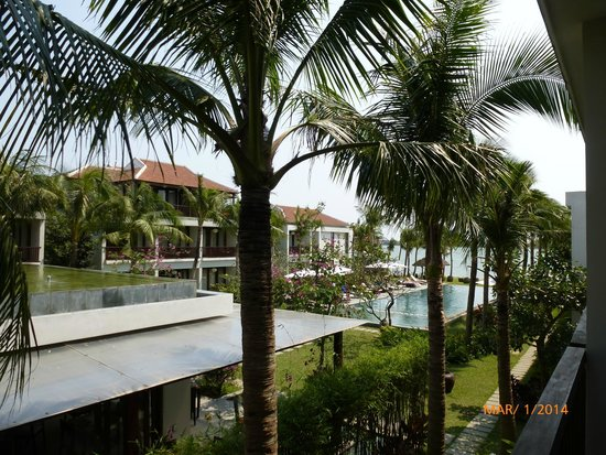 Vinh Hung Emerald Resort: View from our room