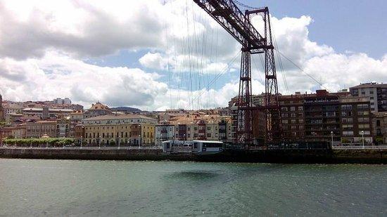 Puente Bizkaia : Le pont transbordeur de Biscaye
