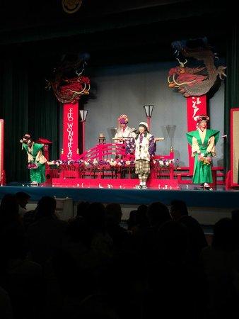 Edo Wonderland Nikko Edomura: Mizugei (water show)
