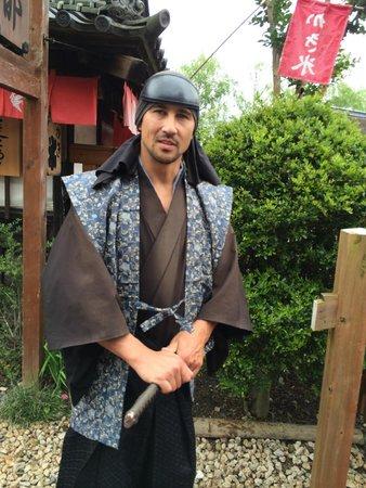 Edo Wonderland Nikko Edomura: A cast member from Australia...!