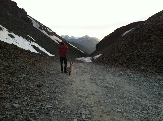 OPUS Hut: Ophir Pass, around sunset
