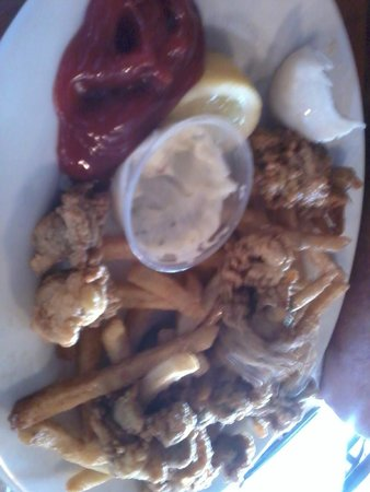 Cap'n Jack's Restaurant: fried clams
