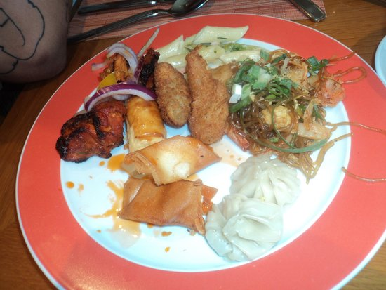 Sheraton Hong Kong Hotel & Towers: Lunch buffet